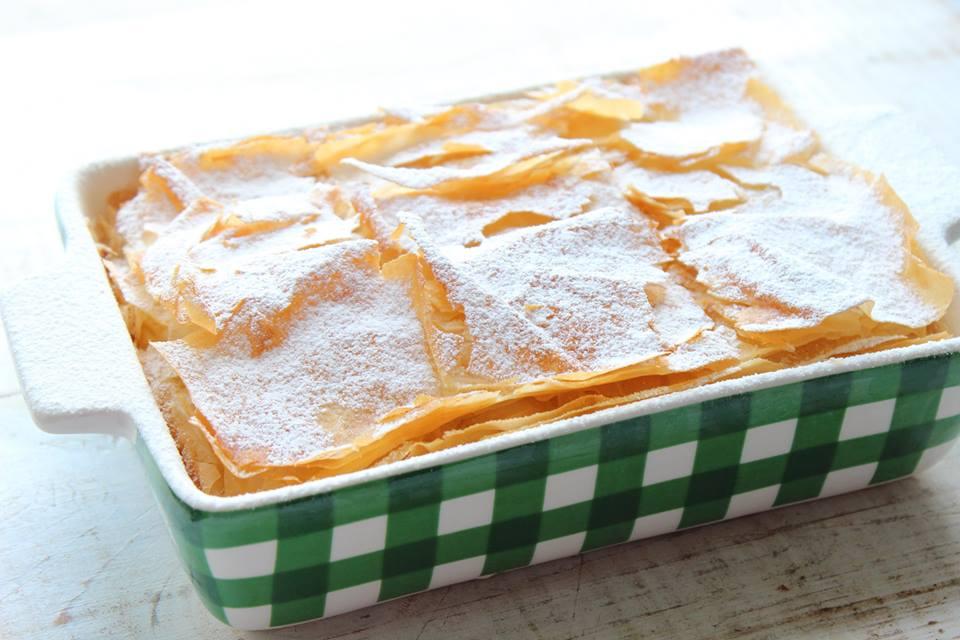 Bougatsa: Il dolce tipico della colazione greca facile e veloce