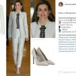 Letizia Ortiz    la regina impeccabile anche in tailleur!