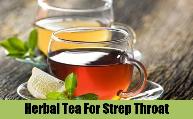 Care should Herbs for strep throat