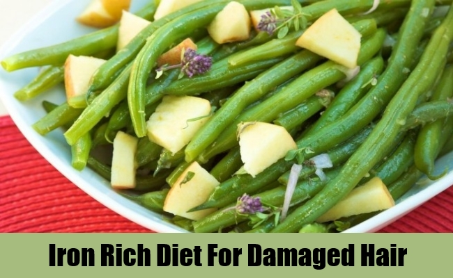 Iron Rich Diet For Damaged Hair