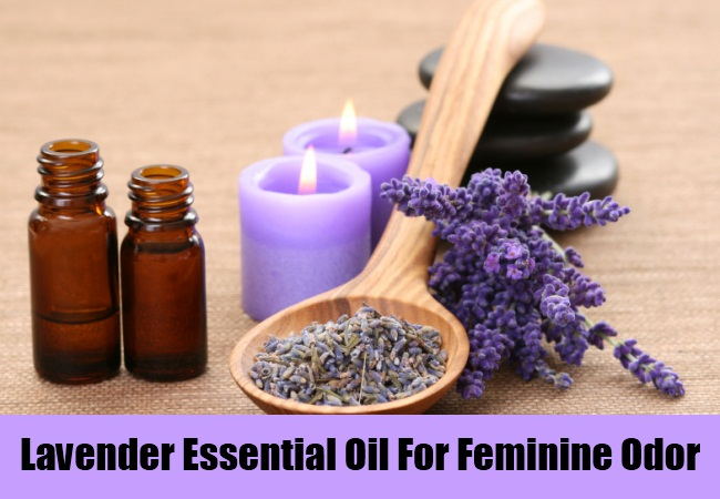Lavender Essential Oil For Feminine Odor