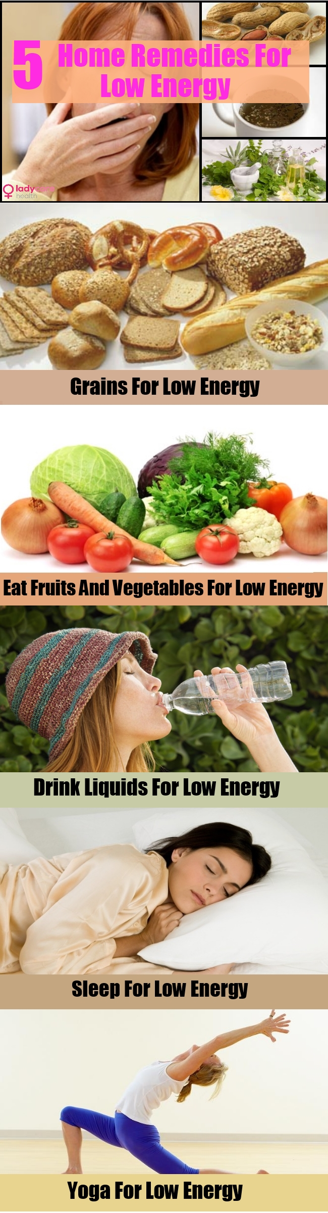 Remedies For Low Energy