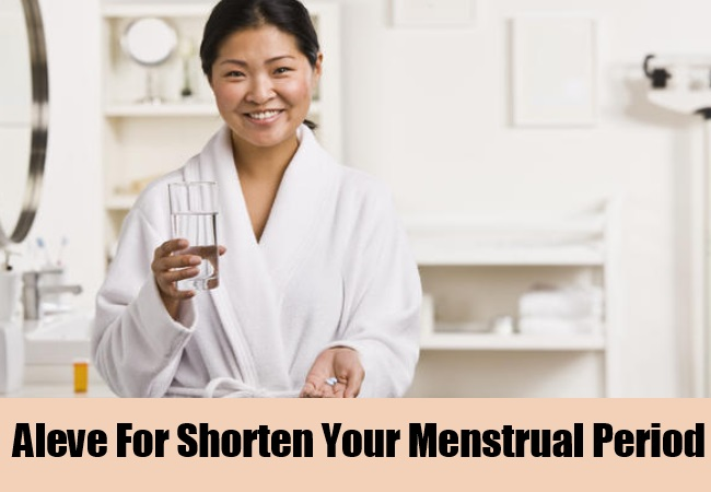 Aleve For Shorten Your Menstrual Period