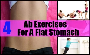 AB EXERCISE FOR A FLAT STOMACH