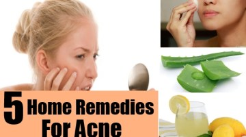 Home Remedies To Cure Acne