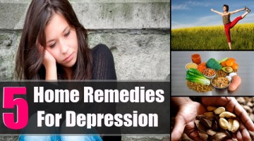 5 Depression Home Remedies