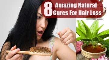 8 Amazing Natural Cures For Hair Loss