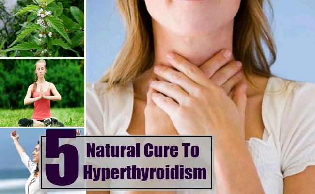 What are some natural cures for hyperthyroidism?