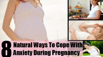 8 Natural Ways To Cope With Anxiety During Pregnancy