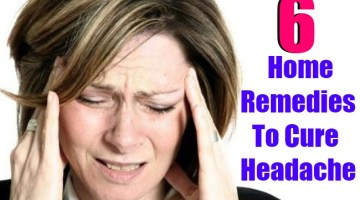 6 Best Home Remedies To Cure Headache