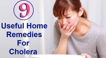9 Useful Home Remedies For Cholera
