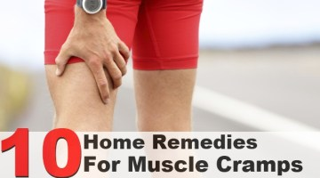10 Home Remedies For Muscle Cramps