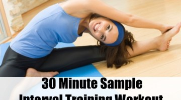30 Minute Sample Interval Training Workout