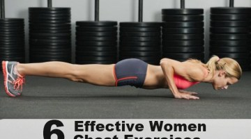 6 Quick And Effective Women Chest Exercises