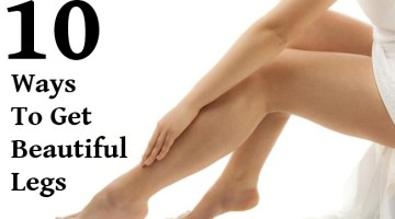 10 Natural Ways to Get Beautiful Legs
