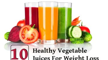 10 Top Healthy Vegetable Juices For Weight Loss