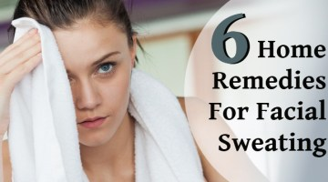 6 Home Remedies For Facial Sweating