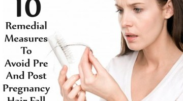 Remedial Measures To Avoid Pre And Post Pregnancy Hair Fall