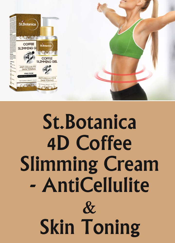 St.Botanica 4D Coffee Slimming Cream
