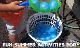 Fun Summer Activities For The Family ~ Bunch O Balloons + Giveaway