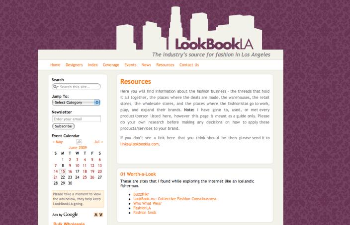 www.lookbookLA.com