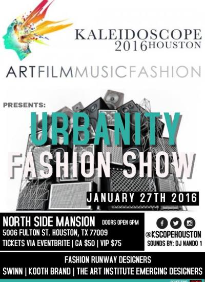 Kaleidoscope Houston 2016 Fashion Music Art