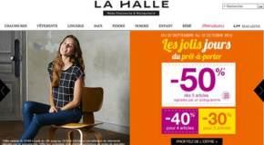 Code promo La Halle réduction soldes 2015