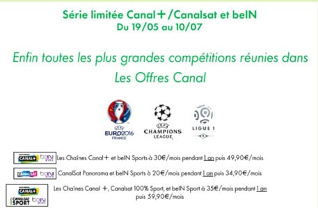 code promo canal plus