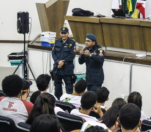 Palestra foi ministrada no auditório do IFS Campus Lagarto