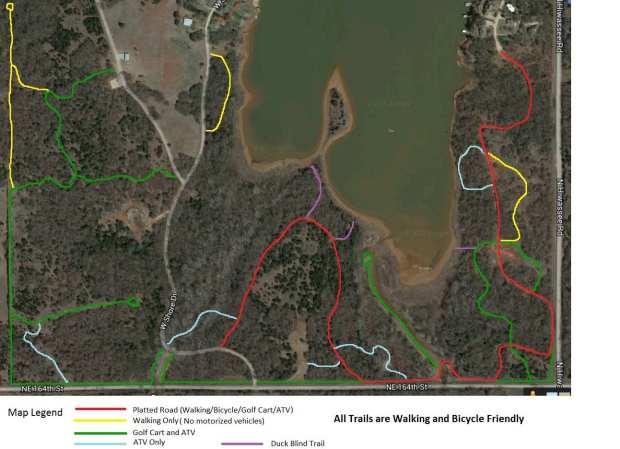 Hiwassee Trails Map