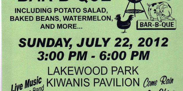 Lakewood Kiwanis Club Chicken & Rib Bar-B-Que
