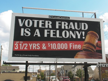 Clear Channel to Remove Racist Voter Intimidation Billboards | cleveland.com