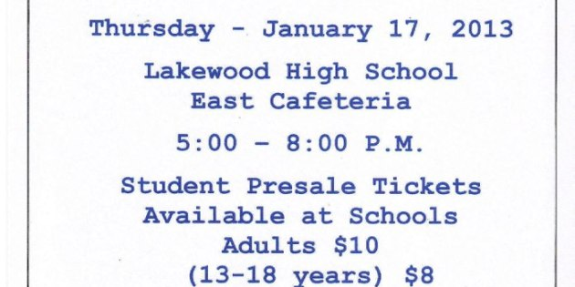 Lakewood All-U-Can-Eat Pizza Bake-Off This Thursday
