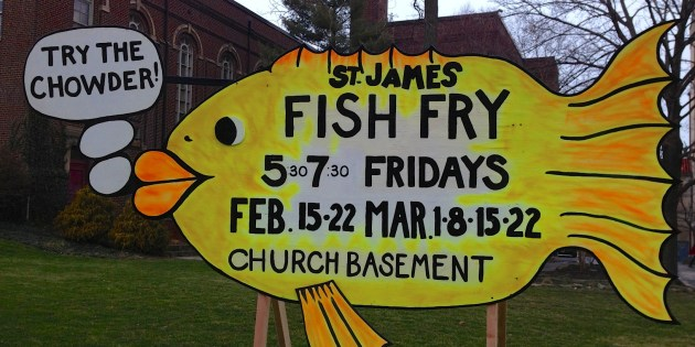 Best Fish Fry Sign Ever