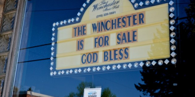 The Winchester Music Hall Is For Sale, Now Closed