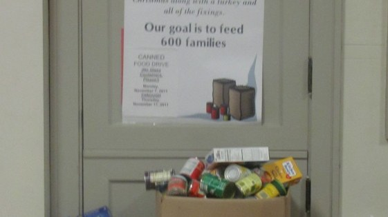 LCAC Annual Thanksgiving Food Drive – A Time to Share