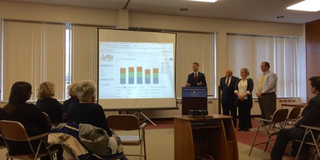 State Treasurer Josh Mandel Stops in Lakewood to Talk About OhioCheckbook