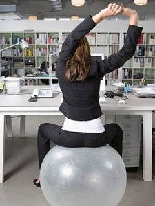exercise-ball-at-work