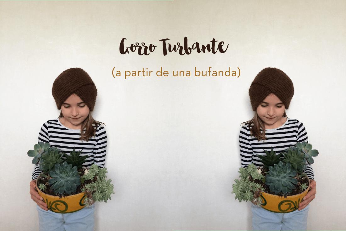 Gorro Turbante: Patrón súper fácil | 3macarrons