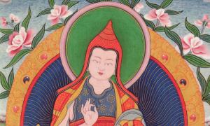 Moine Bouddhiste du 8ème siècle et célèbre auteur du  Bodhicaryavatara