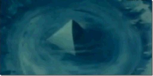 Pirámides sumergidas en el triángulo de las Bermudas
