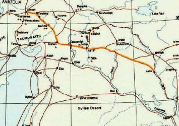 ruta comercial II milenio a.c