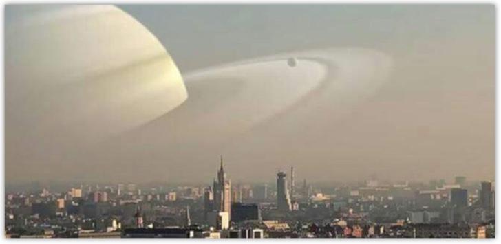 Saturno no se verá así hoy (afortunadamente)