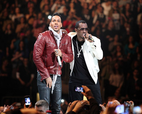 Romeo Santos & P.Diddy at Madison Square Garden