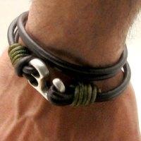Le bracelet cuir