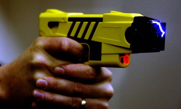 Taser Gun being used at psychiatric settings