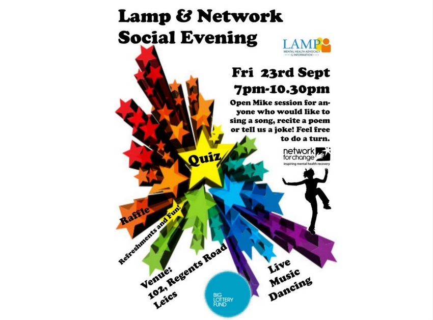 LAMP and Network for Change Social Evening 2016 at The Regent Club