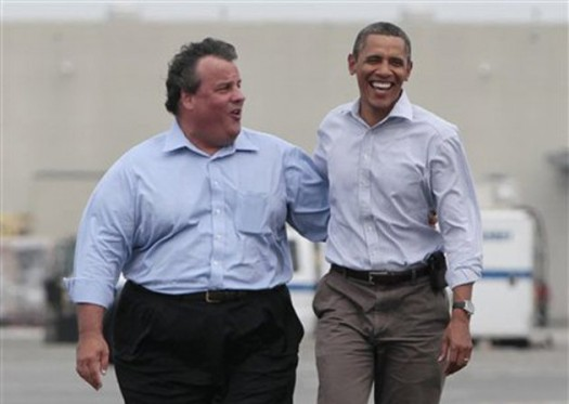 Governor Christie & President Barack Obama