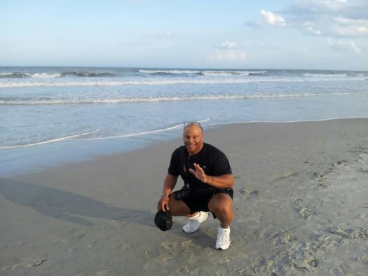 LanceScurv @ The Beach