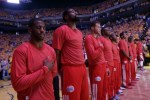 L.A. Clippers Protest
